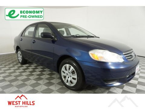 Pre-Owned 2003 Toyota Corolla ZZE130L S